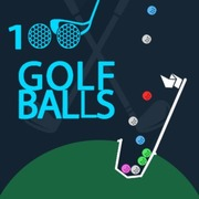 100 Golf Balls - Skill game icon