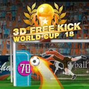 3D Free Kick World Cup 18 - Skill game icon