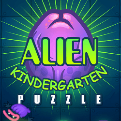 Alien Kindergarten - Puzzle game icon