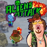 Aliens Attack - Action game icon