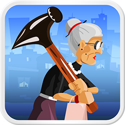 Angry Gran - Arcade game icon