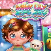 Baby Lily Sick Day - Girls game icon