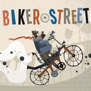 Biker Street - Cars game icon