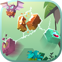 Blocky Warrior - Adventure game icon