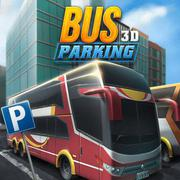 Bus Parking 3D - Skill game icon