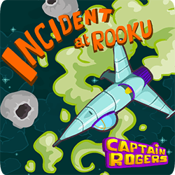 Captain Rogers Incident at Rooku - Arcade game icon