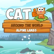 Cat Around the World - Puzzle game icon