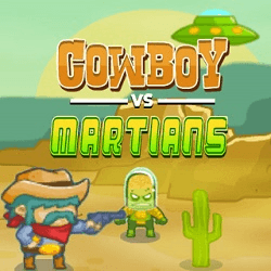 Cowboy VS Martians - Adventure game icon