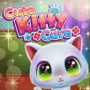 Cute Kitty Care - Girls game icon