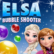 Elsa Bubble Shooter - Matching game icon