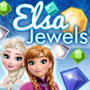 Elsa Jewels - Matching game icon