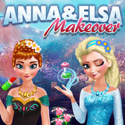 Anna & Elsa Makeover - Girls game icon