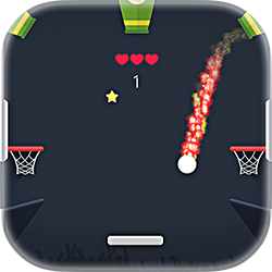 Drop Dunks - Arcade game icon