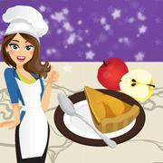 French Apple Pie - Cooking with Emma - Girls game icon