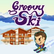 Groovy Ski - Skill game icon