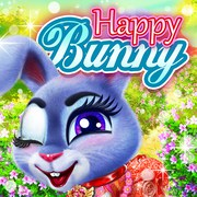 Happy Bunny - Girls game icon