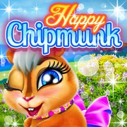 Happy Chipmunk - Girls game icon