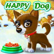 Happy Dog - Girls game icon
