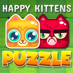 Happy Kittens Puzzle - Puzzle game icon