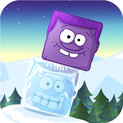 Icy Purple Head - Arcade game icon