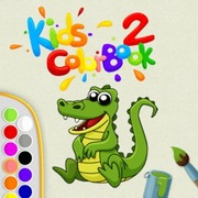 Kids Color Book 2 - Girls game icon