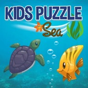 Kids Puzzle Sea - Girls game icon