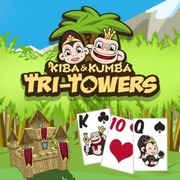 Kiba & Kumba: Tri Towers Solitaire - Card game icon