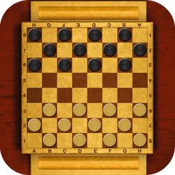 Master Checkers - Puzzle game icon