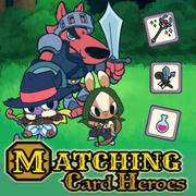 Matching Card Heroes - Card game icon