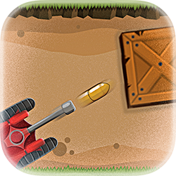 Micro Tank Battle - Strategy game icon