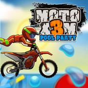 Moto X3M Pool Party - Cars game icon