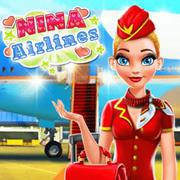 Nina - Airlines - Girls game icon