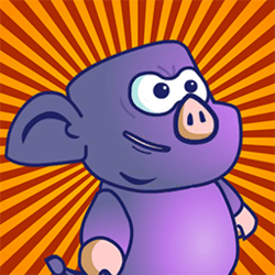 Ninja Pig - Adventure game icon