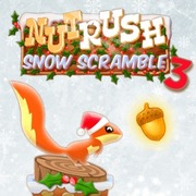 Nut Rush 3 - Snow Scramble - Arcade game icon