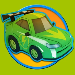 OverVolt Crazy Slot Cars - Arcade game icon