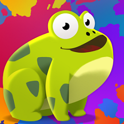 Paint the Frog - Arcade game icon