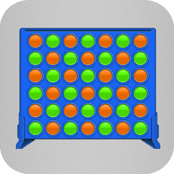 Straight 4 Multiplayer - Board game icon