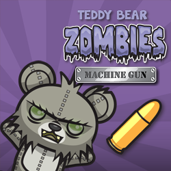 Teddy Bear Zombies Machine Gun - Arcade game icon
