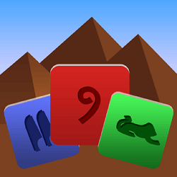 The stones of the Pharaoh - Puzzle game icon