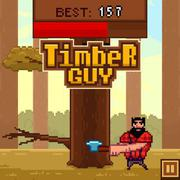 Timber Guy - Skill game icon