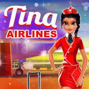 Tina - Airlines - Girls game icon