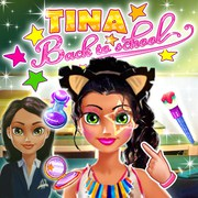 Tina Back To School - Girls game icon