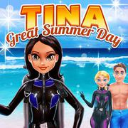 Tina - Great Summer Day - Girls game icon