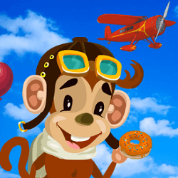 Tommy the Monkey Pilot - Arcade game icon